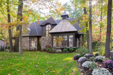 Copper Corner - traditional - Exterior - Toronto - David Small Designs