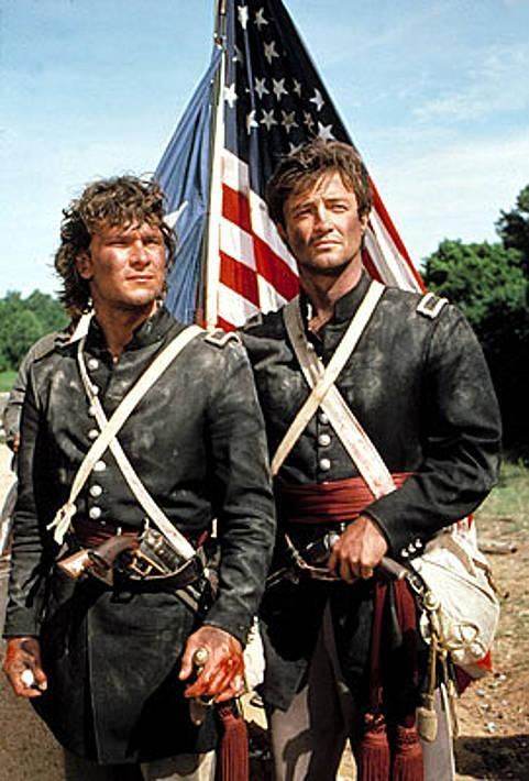 Orry Main and George Hazard (filming The Battle of Churubusco - Mexican War).