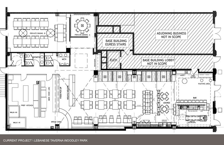 Restaurant Concept Layout Design Restaurant Layout