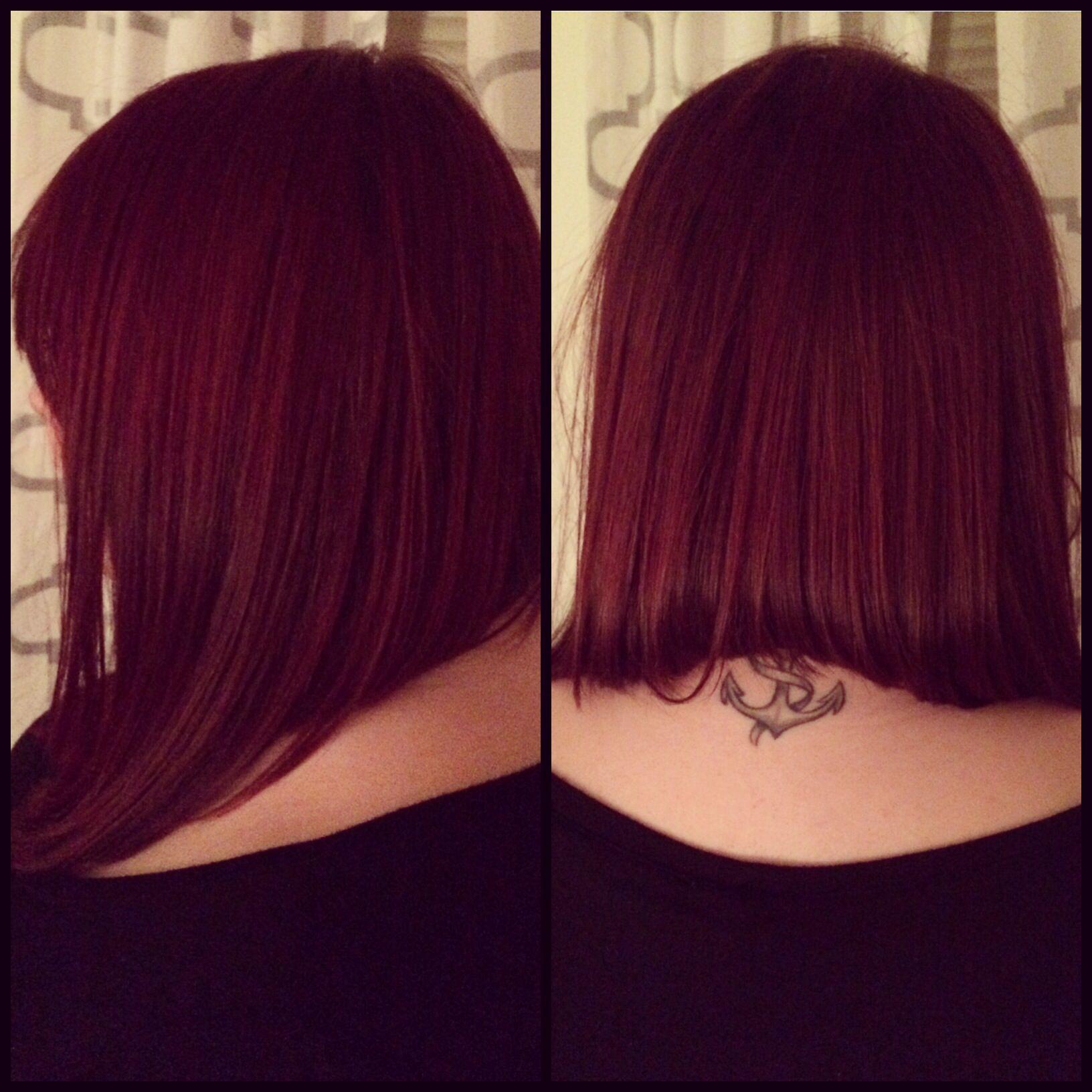 long angled bob - hairstyles | •hair• | pinterest | long angled bob