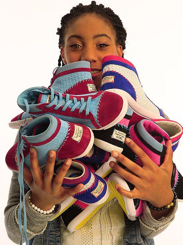 Mo'ne Davis's Sneaker for Charity
