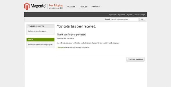 Print Order Confirmation Receipt As Guest User By Mage Magician This Magento Extension Module Allow Guest User To Print Order Magento Print Wordpress Plugins