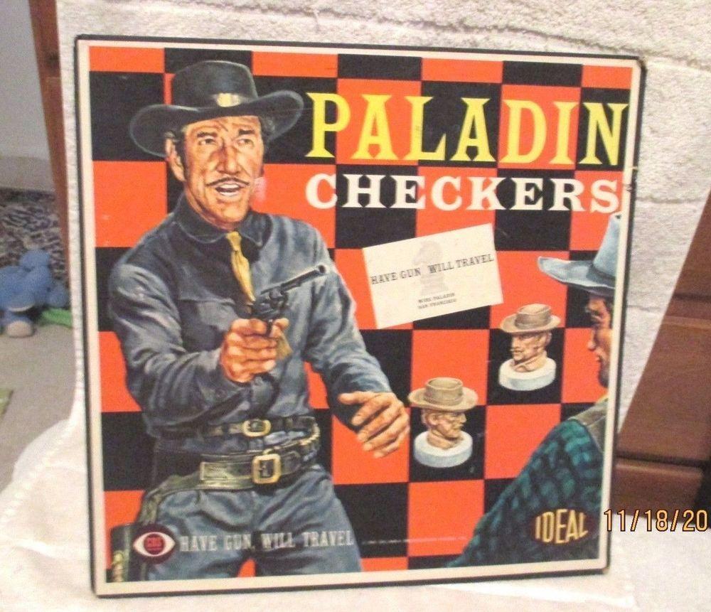 Have Gun Will Travel-Richard Boone-GAME CHECKERBOARD, PHOTO ...