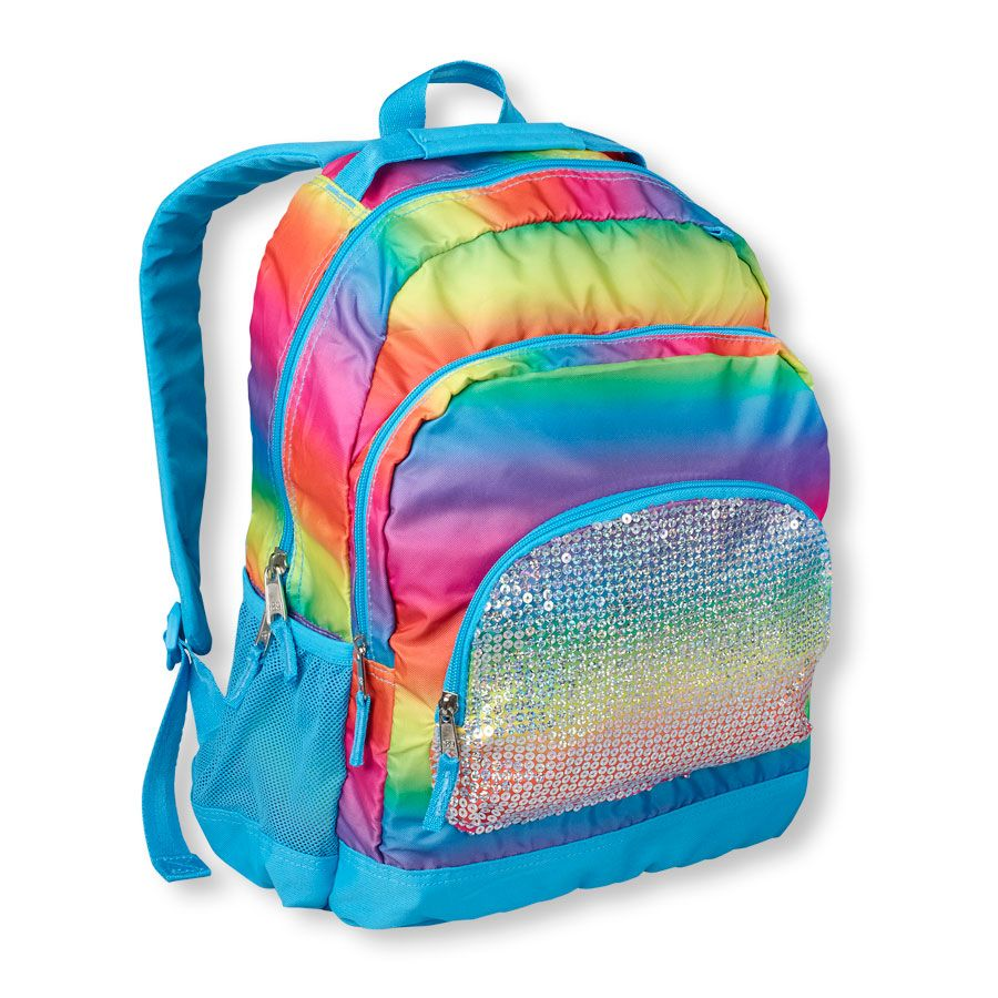 rainbow backpack | US Store | Back to School - 3rd grade girl ...