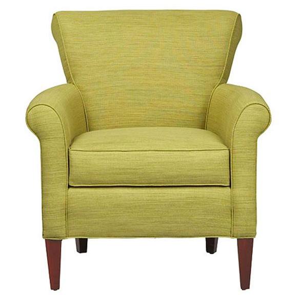 Add a little touch of green to your colorscape with the Clover Chair from CORT. With a compact profile and stylish rolled arms, this chair is perfect for getting comfy in small spaces.    Clover Chair furniture.cort.com