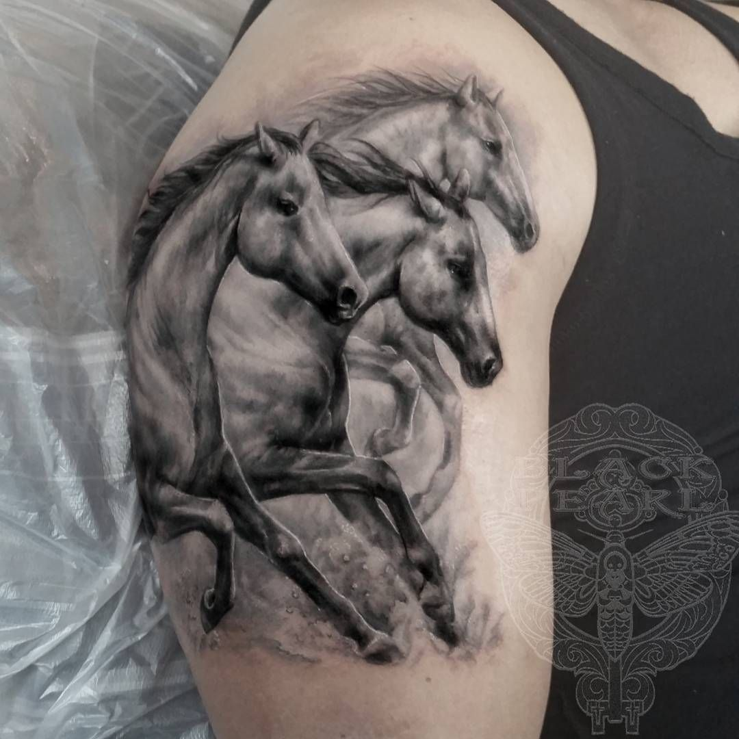 Ll find some other good examples of best horse tattoo design ideas -  Horsetattoo Horse Wildhorses Tattoo