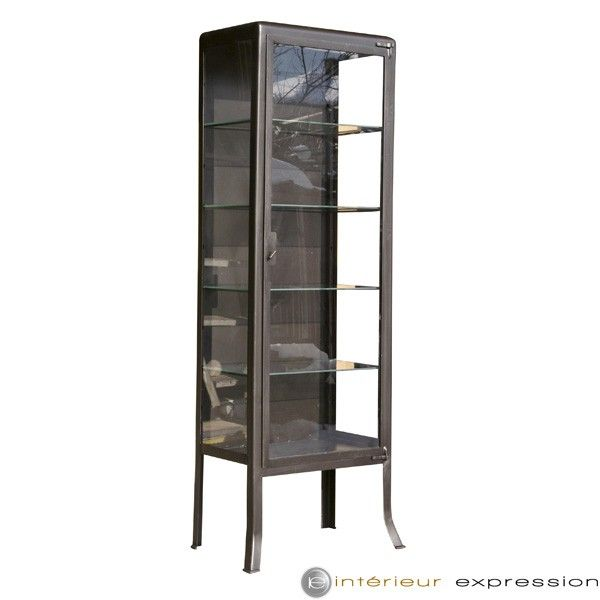 vitrine en m tal d sir e chez int rieur expression. Black Bedroom Furniture Sets. Home Design Ideas