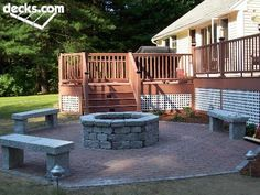 High Deck To Patio Transition Ideas Google Search House Ideas