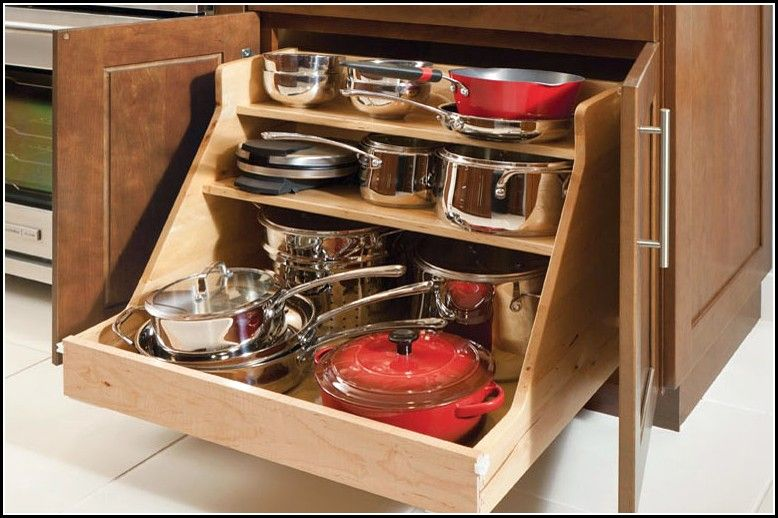Kitchen Drawer Organizers For Pots And Pans   Kitchen ...