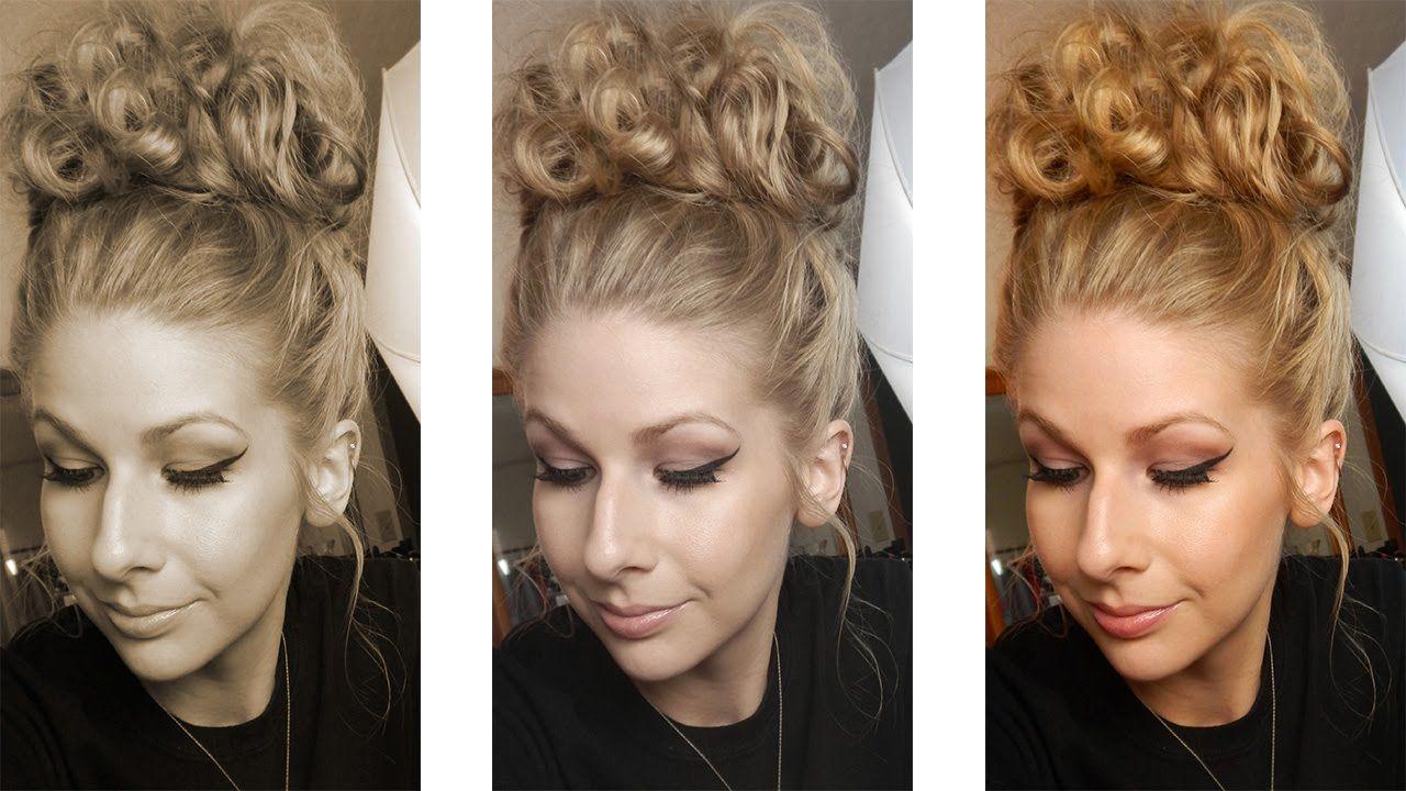 Quick Easy Messy Bun For Curly Hair Bun Hairstyles Messy Bun Hairstyles Messy Bun Curly Hair