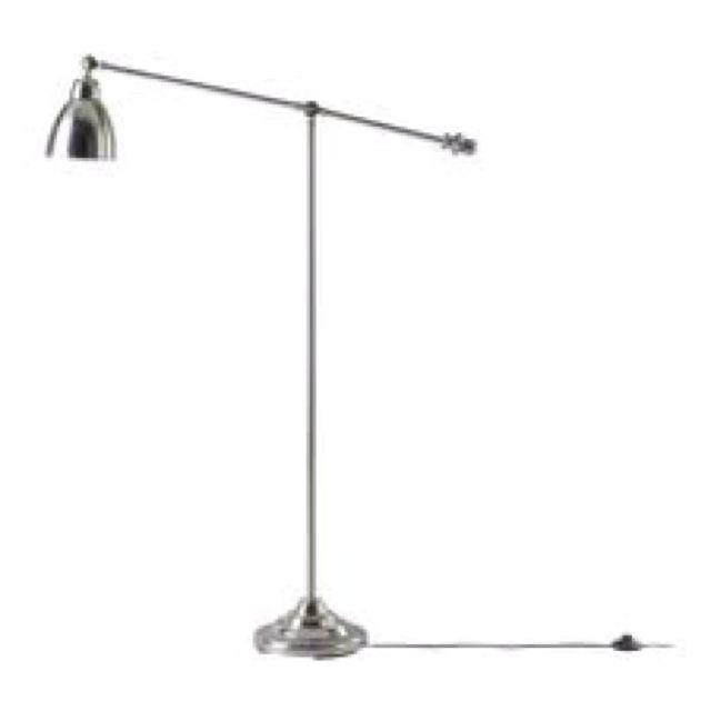 Ikea Barometer Floor Lamp Love The Chrome And Oversized Lamp Head