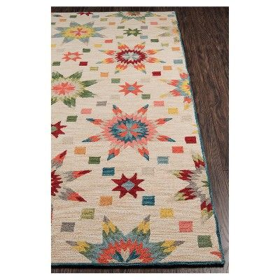 Geometric Tufted And Hooked Accent Rug 3 6 Quot X5 6 Quot Momeni