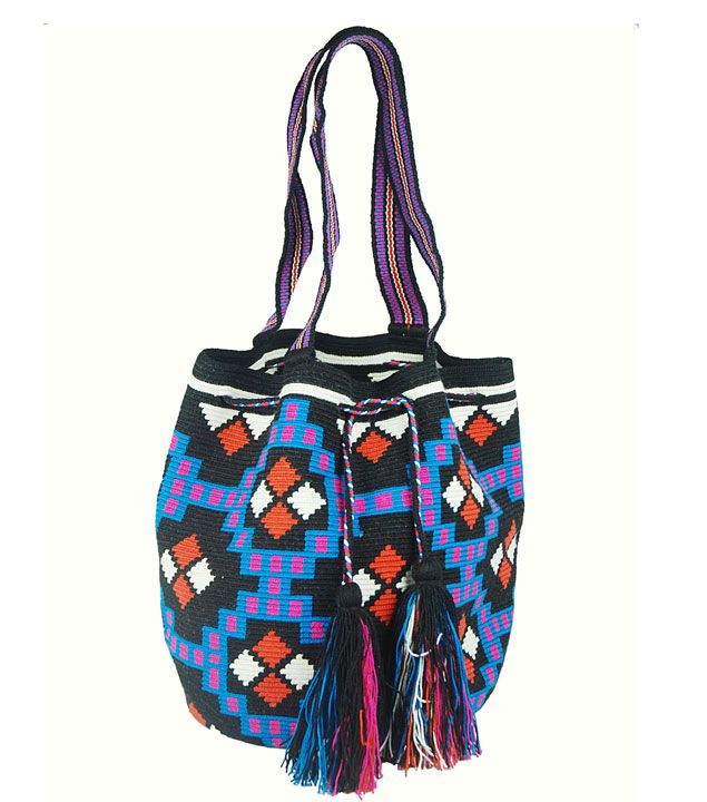 Knit Bag Bolso Wayúu Guanábana