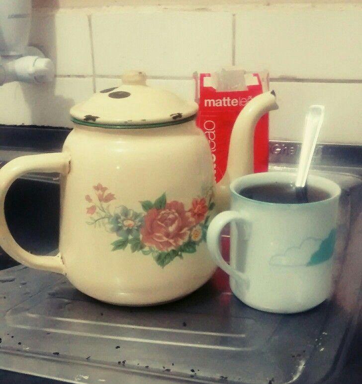 Porque não há vida sem chá!! Foto de Lucia Britto.