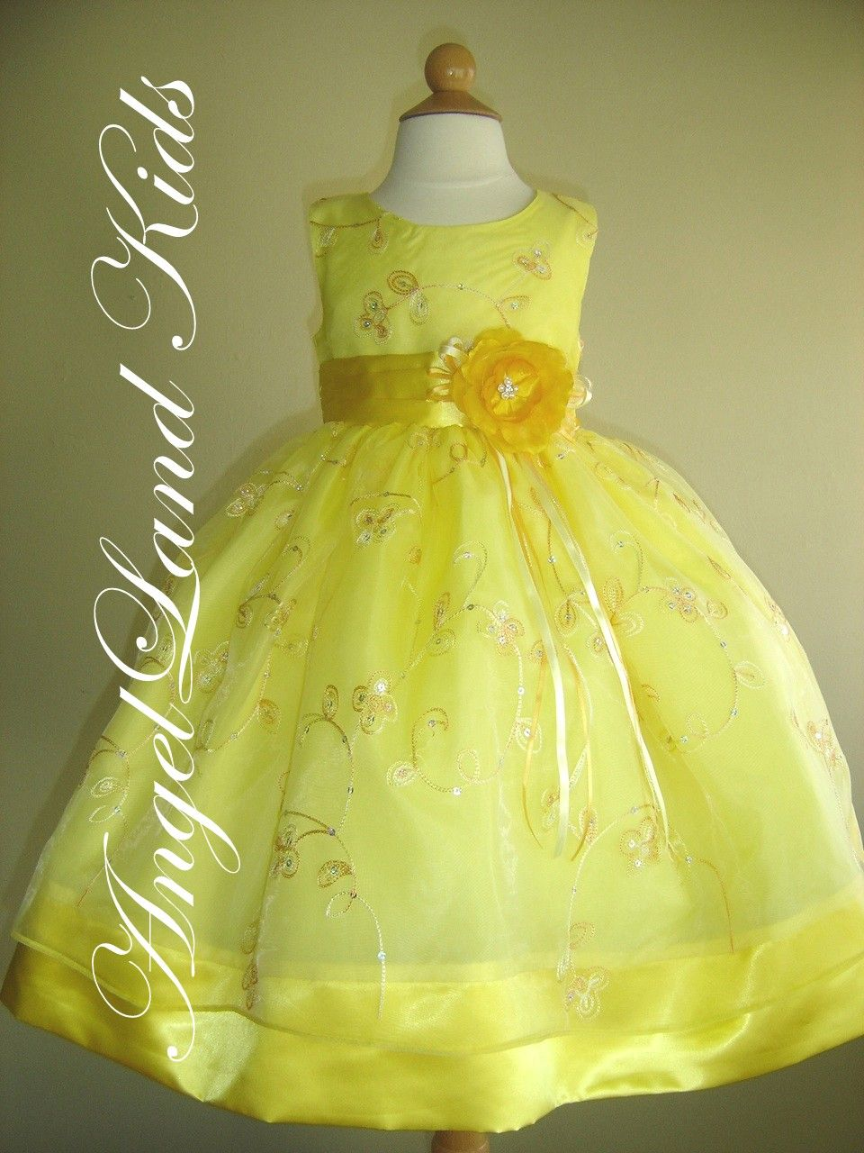 easter dresses | ... Girls Yellow Easter Dresses Beautiful Girls ...