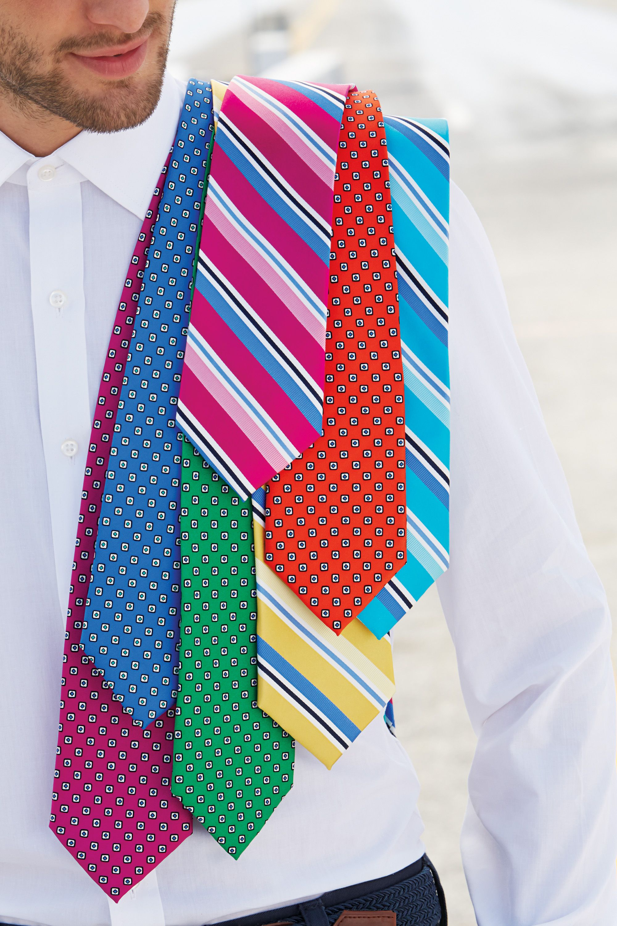 5b1e658f0187 Colorful Izod ties! #belk | Gifts for Him | Mens fashion:__cat__ ...