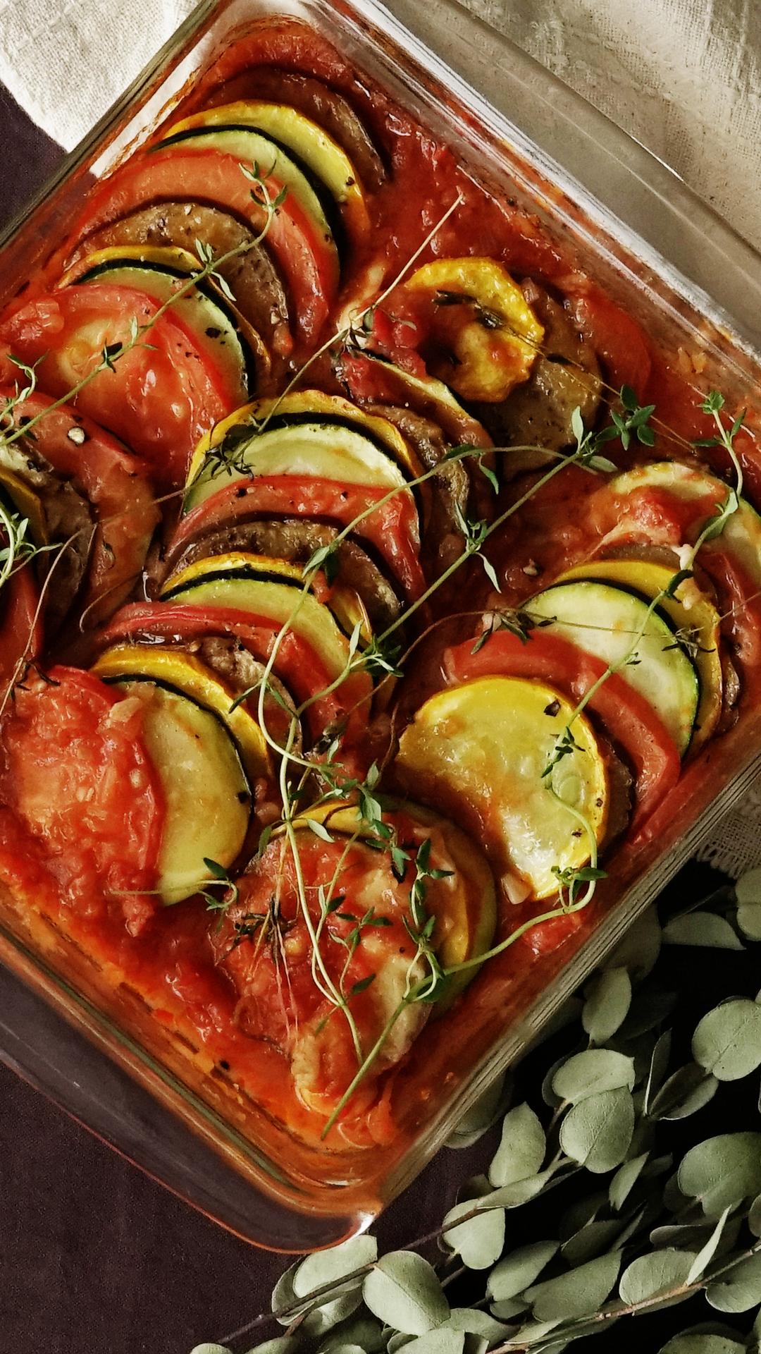 Summer Vegetables Ratatouille