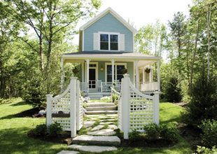 Hidden Pond cottages in Kennebunkport, Maine.  (unlimited access to their organic garden!)