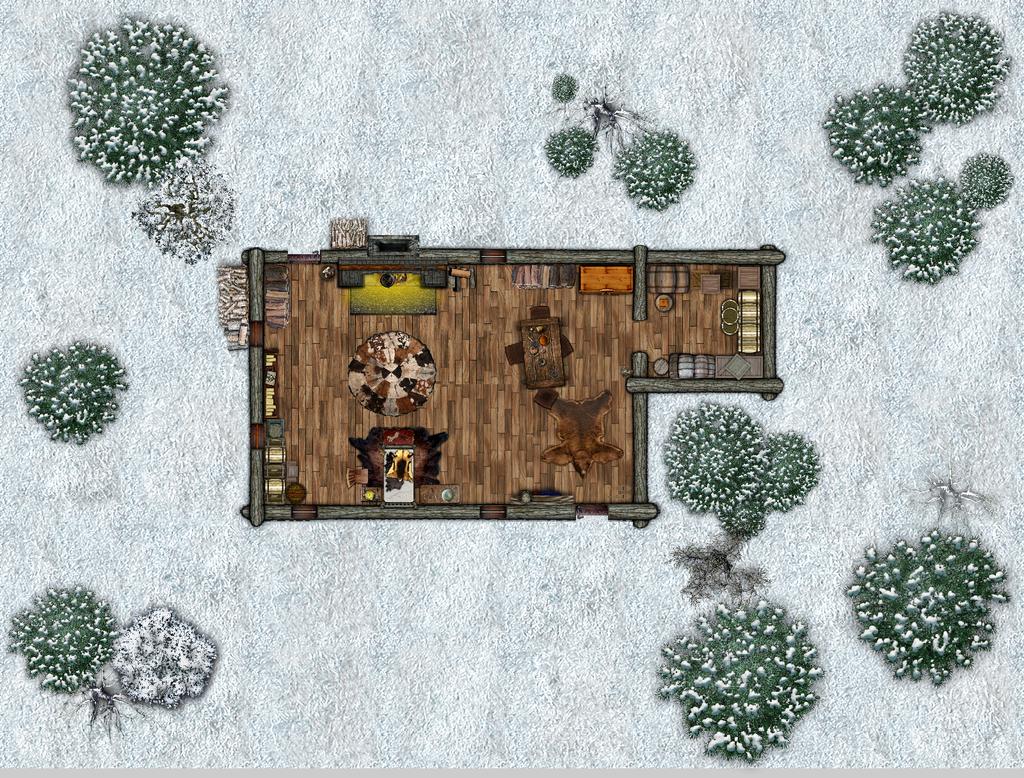 Old Maguyu's Cabin by GreenEyedLiar on DeviantArt