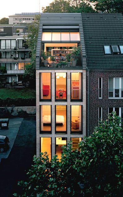 Dach Ausbau Für L Form Modern Architecture In 2019 Urban Wohnen