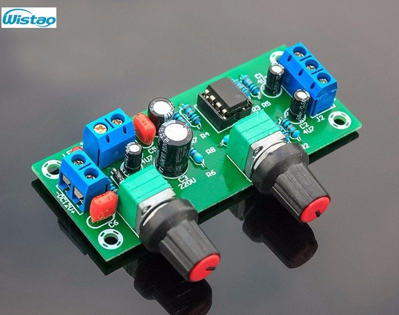Single supply low pass filter