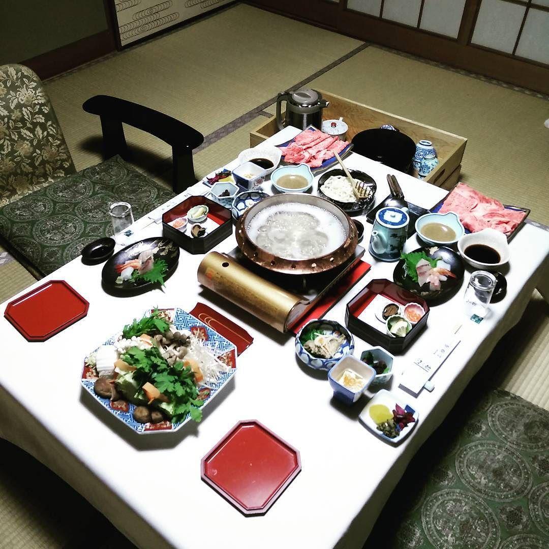 #kaiseki #shabushabu #ryokan #japan #traditional #sushi #sashimi by yeedub