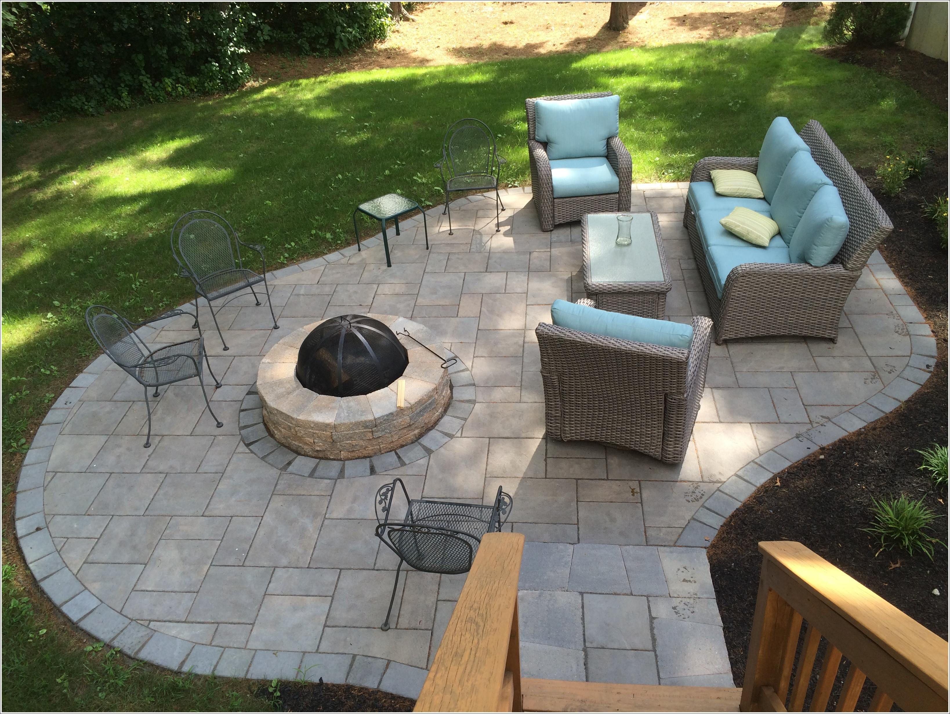 diy flagstone patio repair