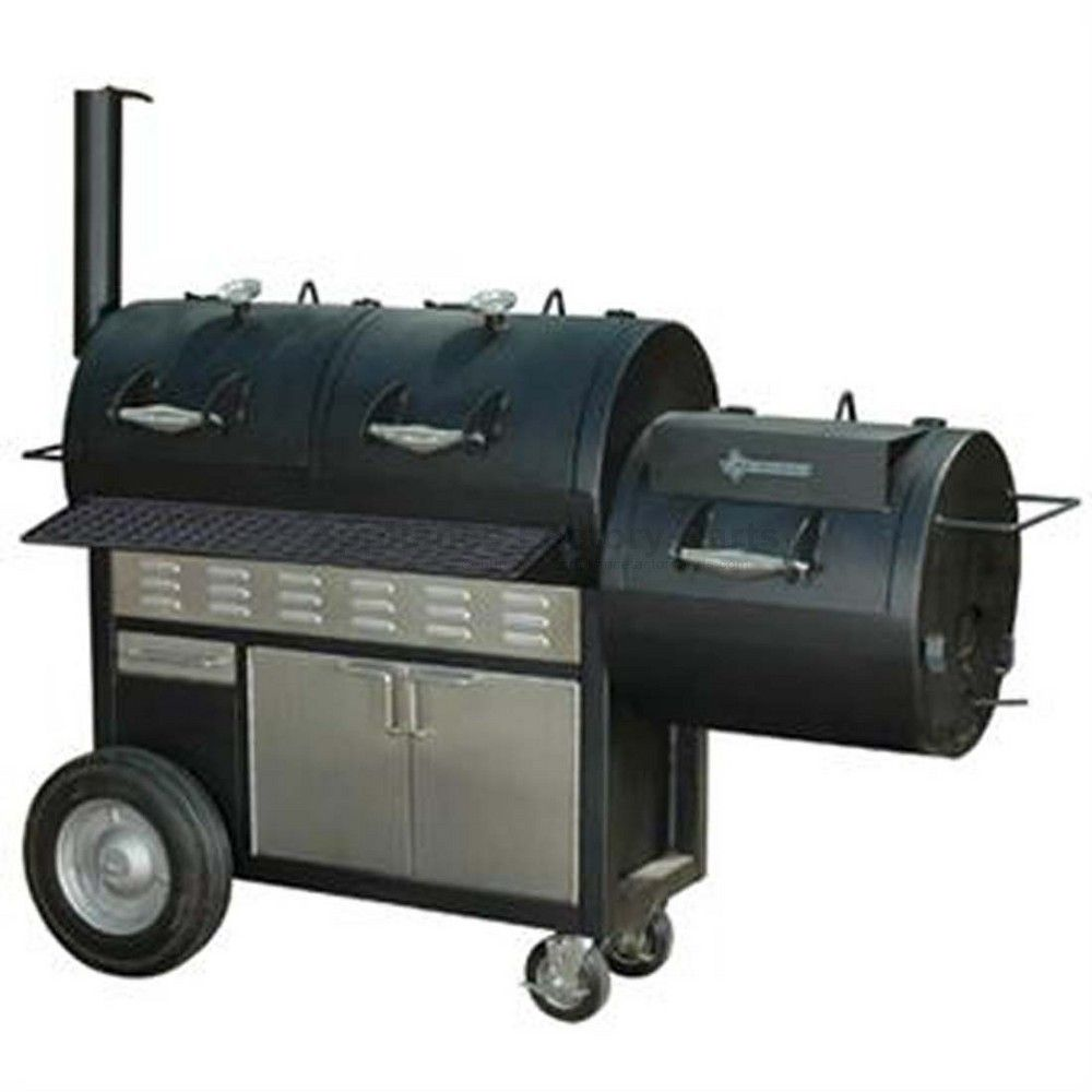 oklahoma joe longhorn gas charcoal smoker and grill. Black Bedroom Furniture Sets. Home Design Ideas