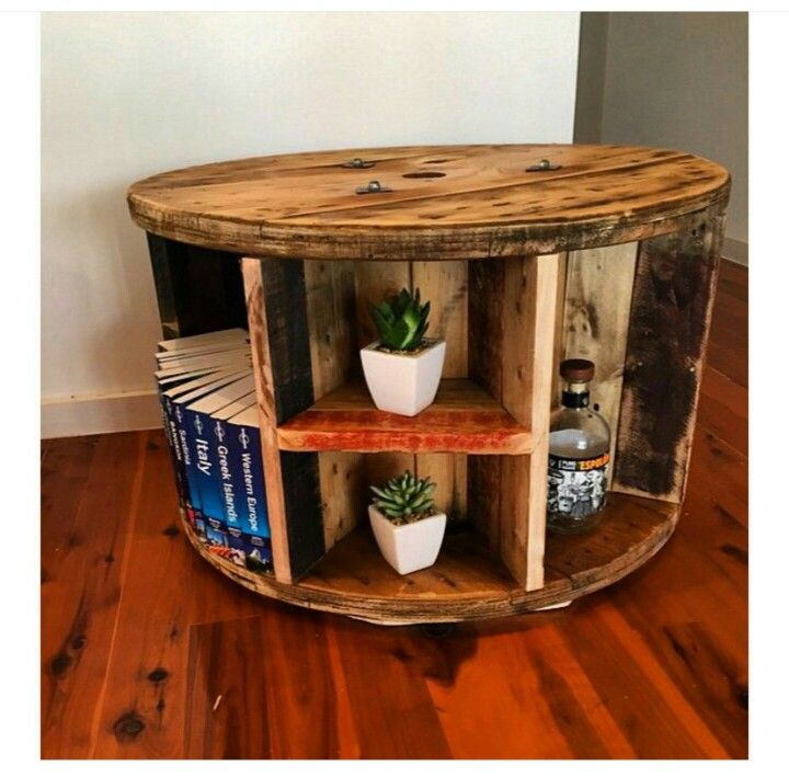 Round Table Made From Spindle In 2019 Cable Reel