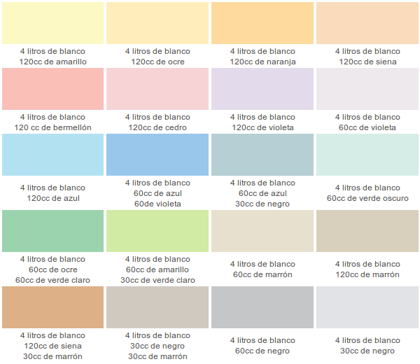 Paleta de colores diy pinterest cores pastel e for Paleta de colores de pintura para interiores