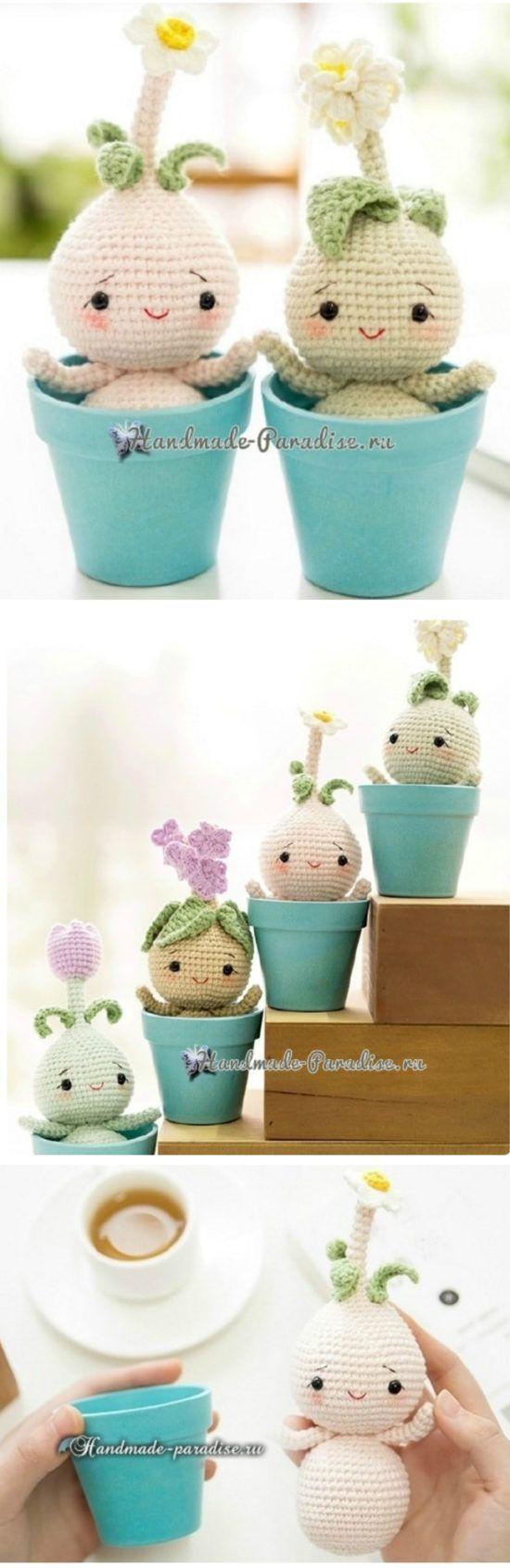 Crochet Dolls Patterns Amigurumi Easy Video Tutorial   Pinterest ...