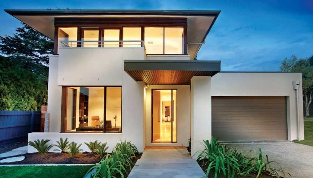 planos de casas modernas con fachadas