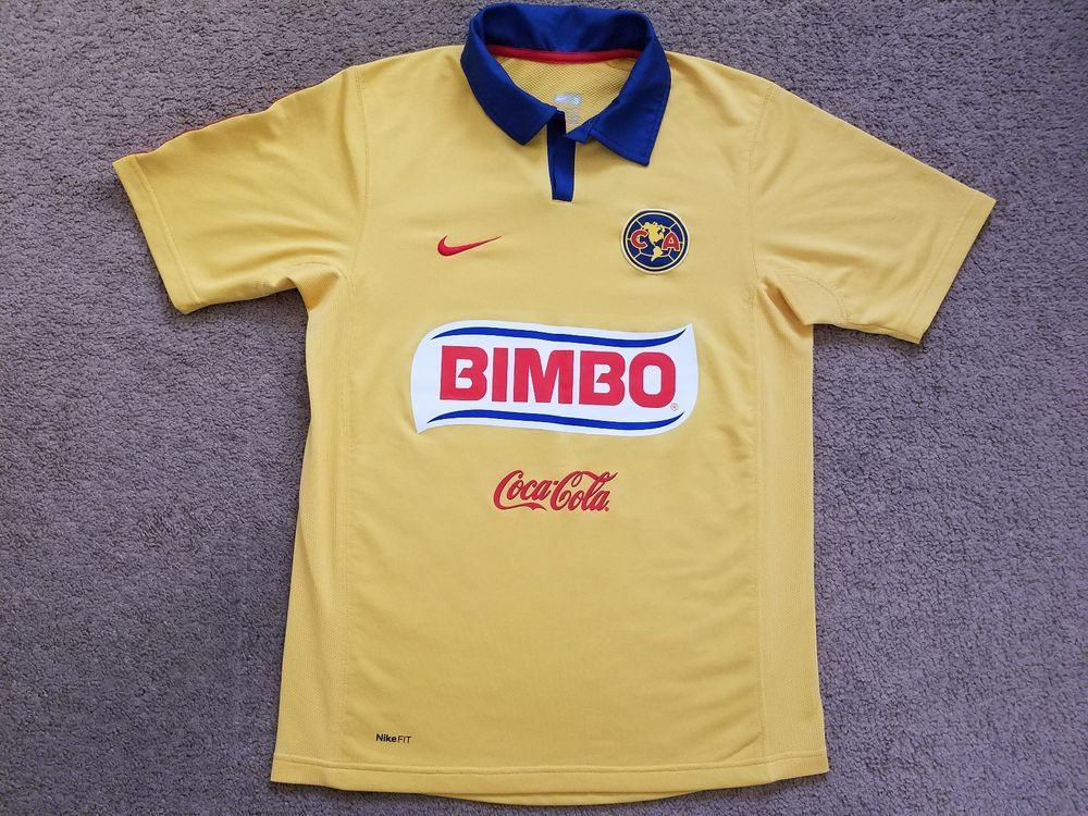 261d6fae5 Official Club America home jersey. Size Adult Small. Jersey is used the  front of the jersey is in great condition. The back of the jersey has two  material ...