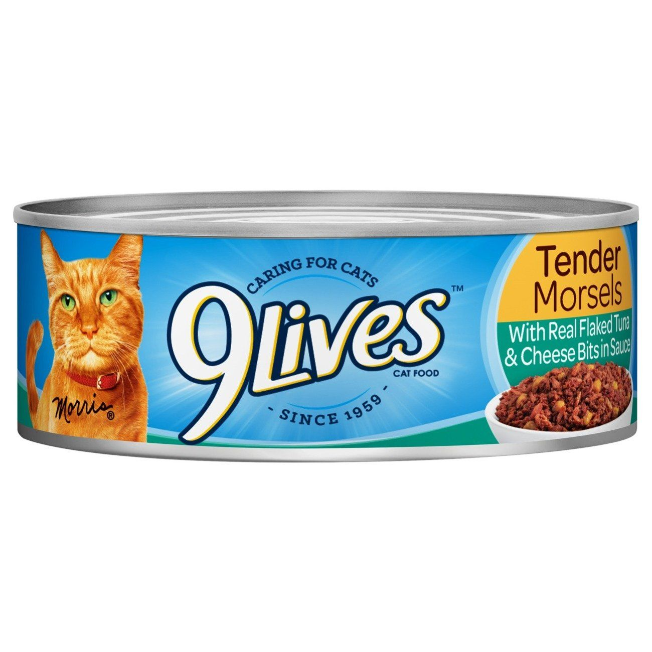9Lives Tender Morsels With Real Flaked Tuna and Egg Bits