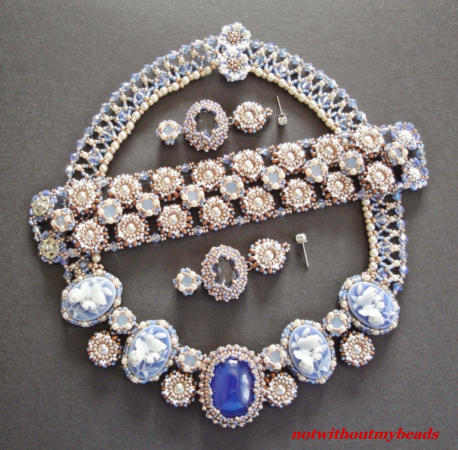 Not without my beads – Nicht ohne meine Perlen: Chalcedon, Kameen und ein wenig Perlenstickerei / ...