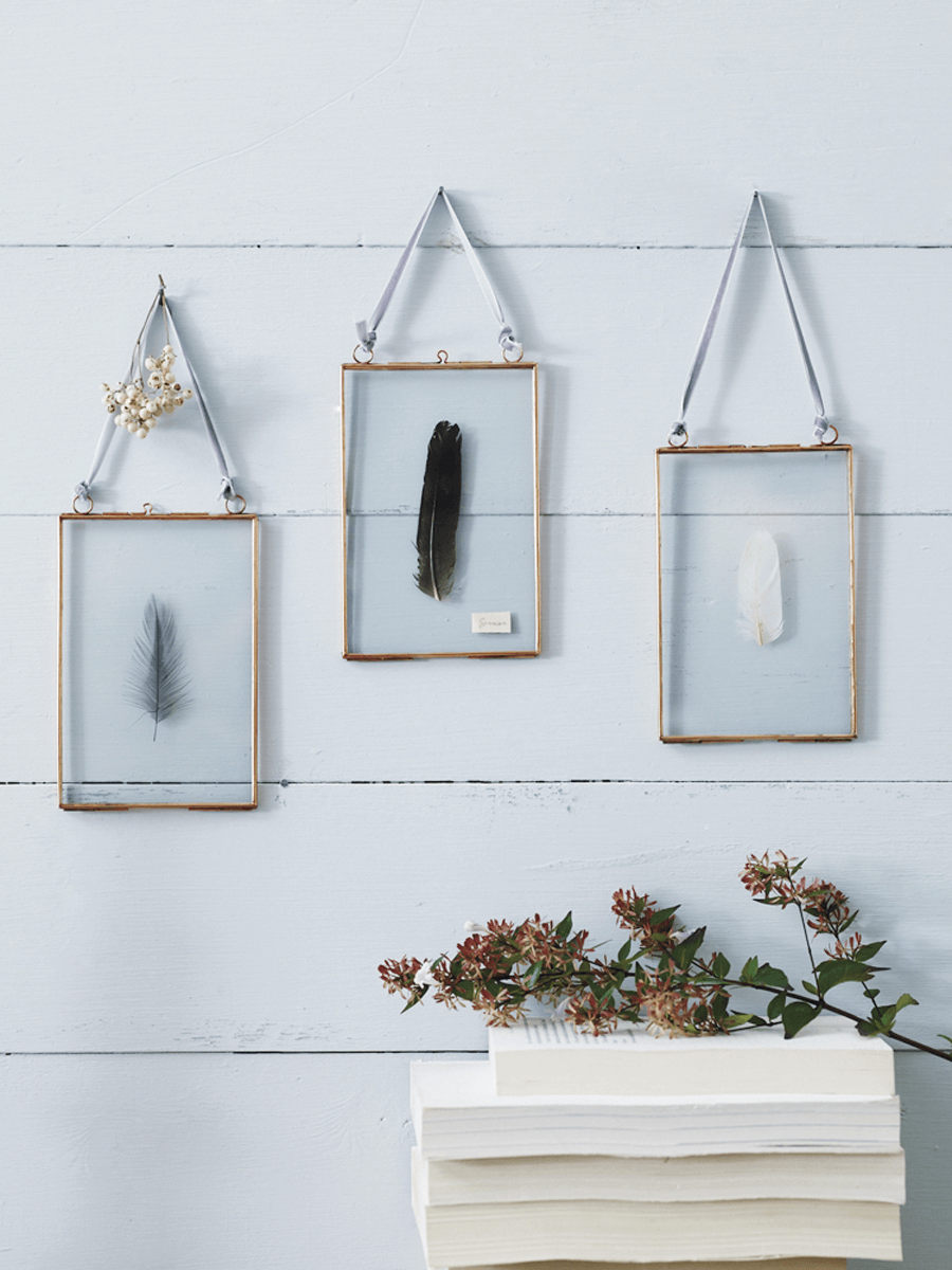 Hinged Glass Frame - Copper | Bedrooms ideas | Pinterest | Hanging ...