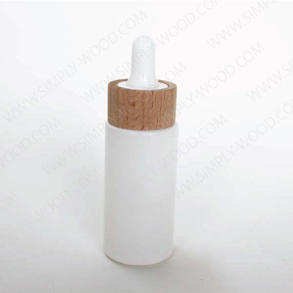 Eye Face Oil Dropper 30ml with wood lid