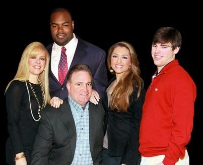sean leigh anne collins sj michael tuohy celebrity family  the real tuohy family and michael oher