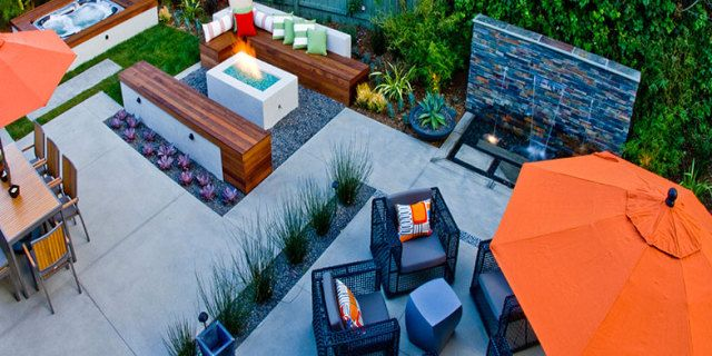 Hardscape Patio Design In San Diego Ca Hardscape Backyard