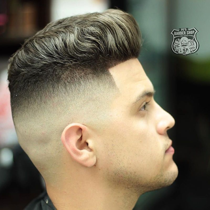 45 Top Haircut Styles For Men High Fade Pompadour And Thicker Hair