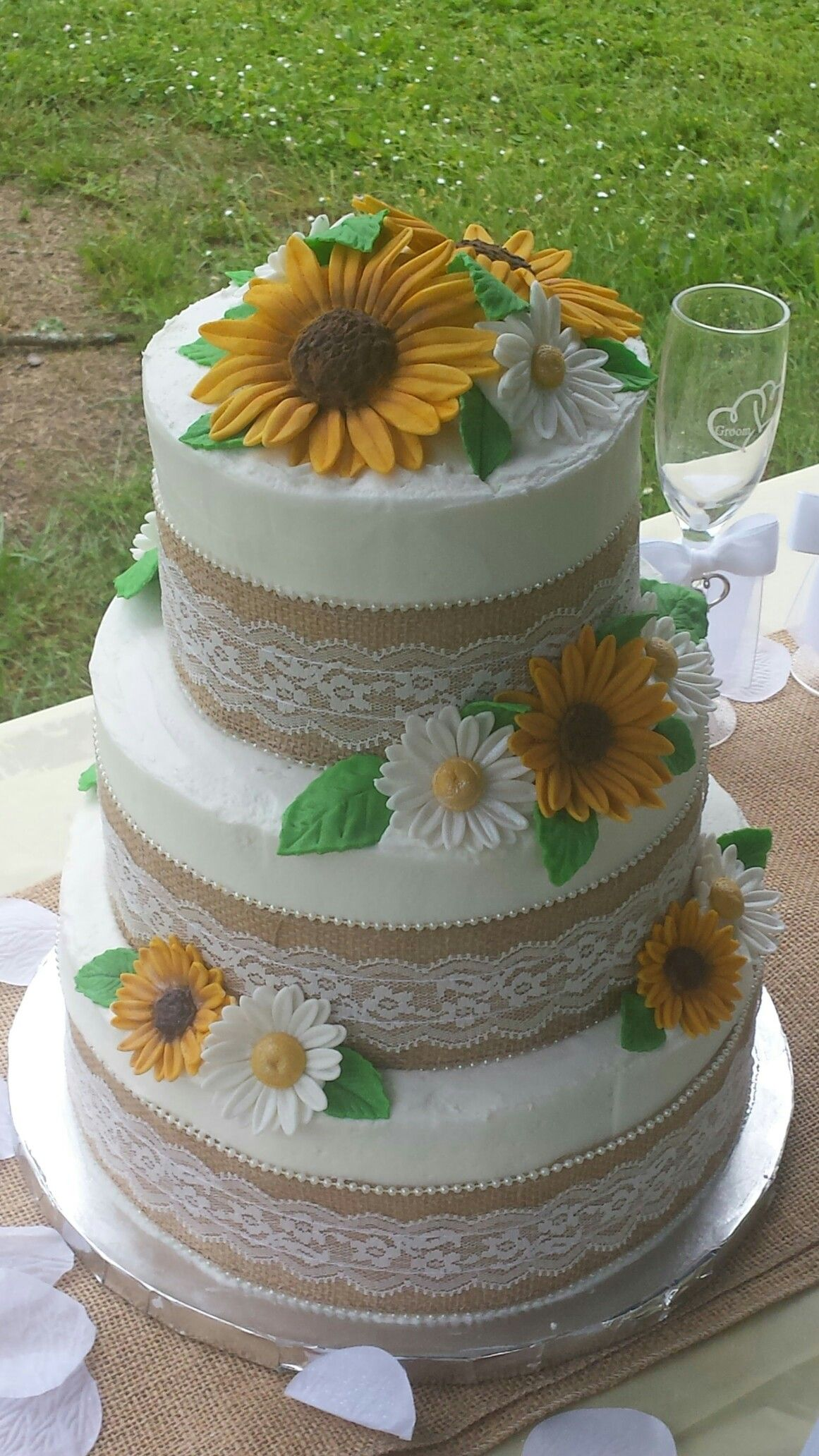 Country wedding for cliffy n natalie more cakes pinterest