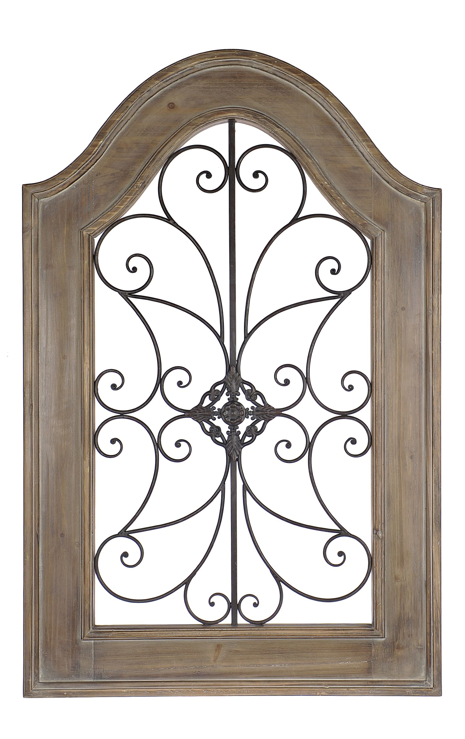 Natural Arch Wood And Metal Wall Plaque Metal Wall Plaques Metal Walls Stair Decor