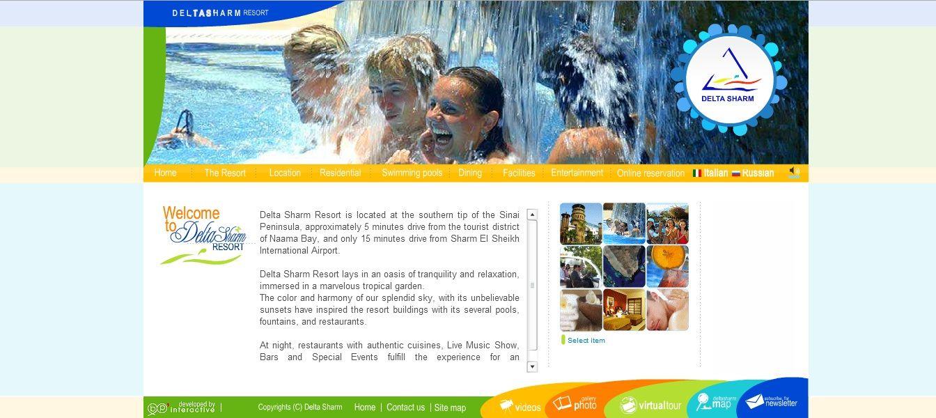 Client: Delta Sharm Resort Project: Tri-lingual Flash