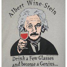 Albert Wine-Stein T-Shirt
