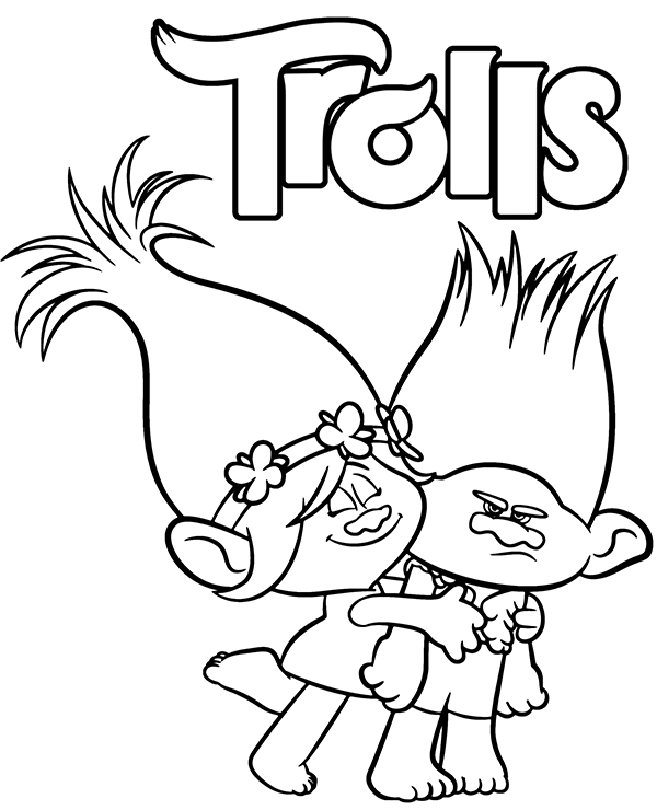 Trolls Branch And Poppy Coloring Sheet Magic Coloring Poppy Coloring Page Princess Coloring Pages Coloring Pages