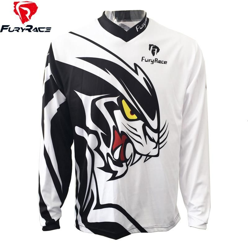 FURY RACE 2017 Cartoon Animal Printing Men s Downhill Jerseys Motorcyle DH  MTB Shirts Mountain Bike Cycling Offroad Clothing. Yesterday s price  US   21.99 ... 54112aa92