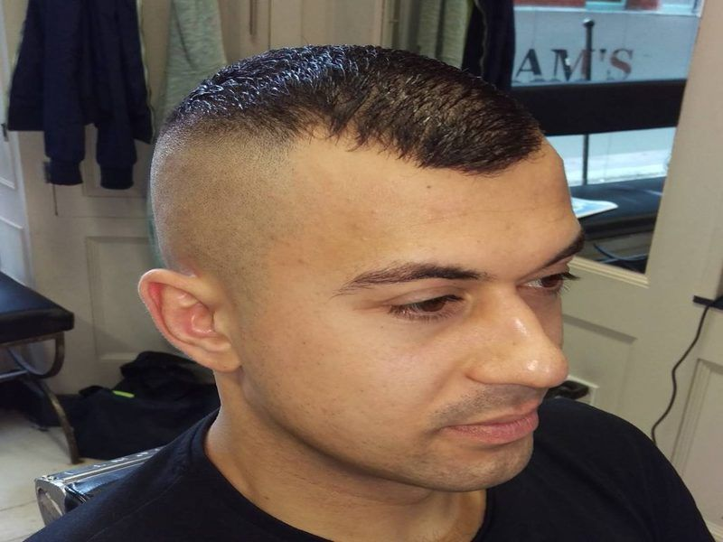 Cool Fade Haircut With Receding Hairline Check More At  Https://hairstylesformen.club