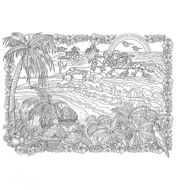 Das Grosste Zencolor Buch Das Weltall Landschaften Zum Ausmalen Von Topp Ausmalbilder Ausmalen Bilder