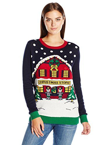 daa65495830 Ugly Christmas Sweater Women s Light-Up Store