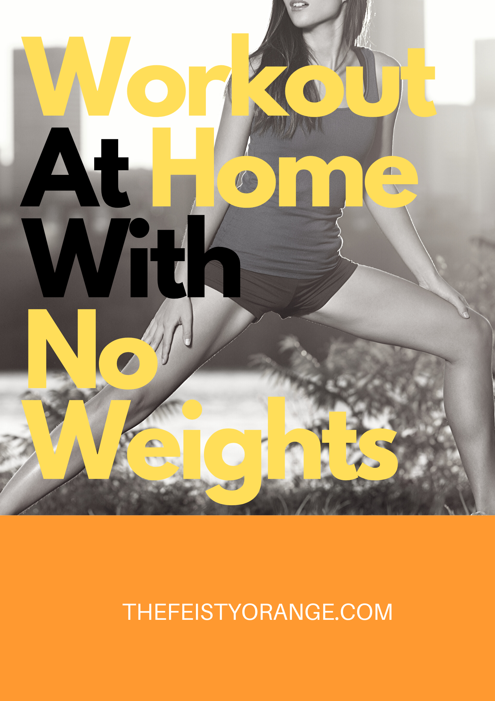 Workouts At Home With No Weights In